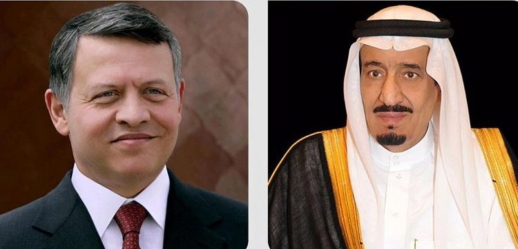 خادم الحرمين الشريفين والملك عبد الله